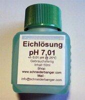 pH-Pufferlösung pH 7,01 50 ml Flasche