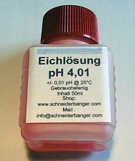 pH-Pufferlösung pH 4,01 50 ml Flasche