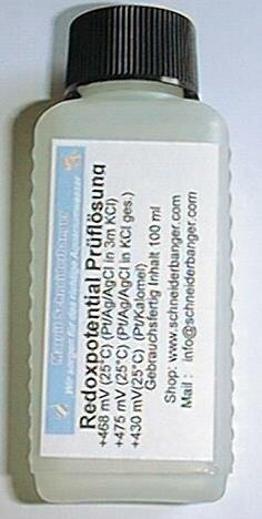 Redox Testlösung 475 mV 100 ml