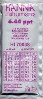TDS-Lösung 6.44 ppt (g/l) 20 ml Beutel