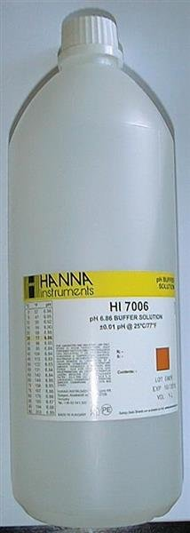 Pufferlösung pH 6,86, 1 l Flasche