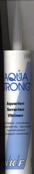 Aqua Strong Aquariensilikon 310 ml transparent