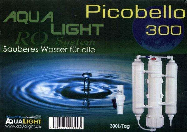 Umkehrosmoseanlage Picobello 300 Liter/Tag mit externen Spülventil