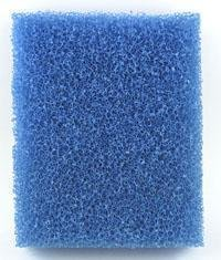Filterschaumstoff blau 50 x 50 x 5 cm grob