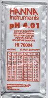 Pufferlösung pH 4,01, 25 Beutel à 20 ml
