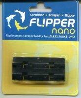 Flipper Nano Edelstahl-Ersatzklingen für Glas (2...