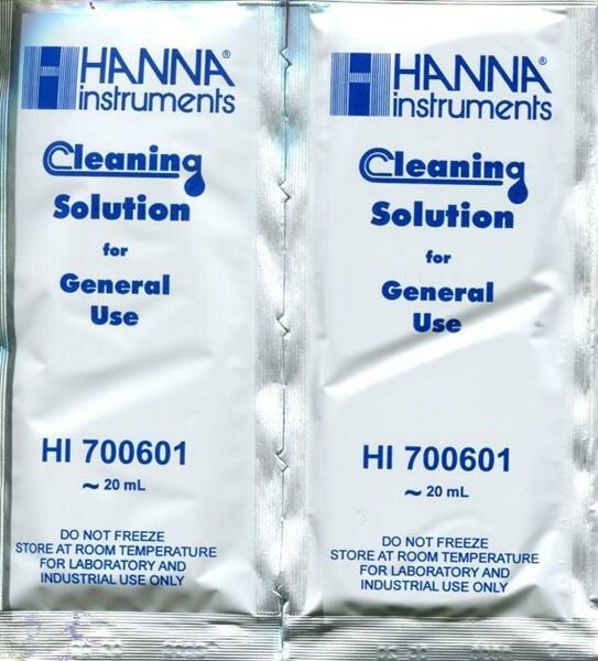 Reinigungslösung für Elektroden, Anwendung: allgemein, 25 Beutel à 20 ml