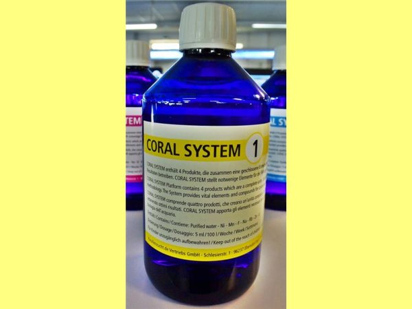 Coral System 1 - Coloring Agent 1 250 ml
