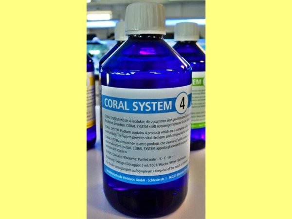 Coral System 4 - Coloring Agent 4  250 ml