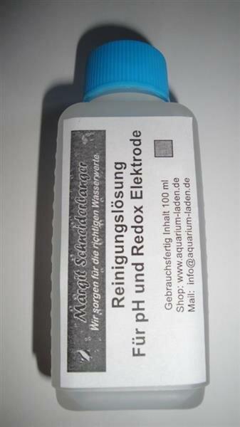 Reinigungslösung für Elektroden, 500 ml Flasche
