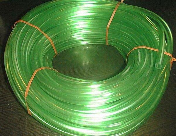Kunststoffschlauch grün 12/16mm pro Meter